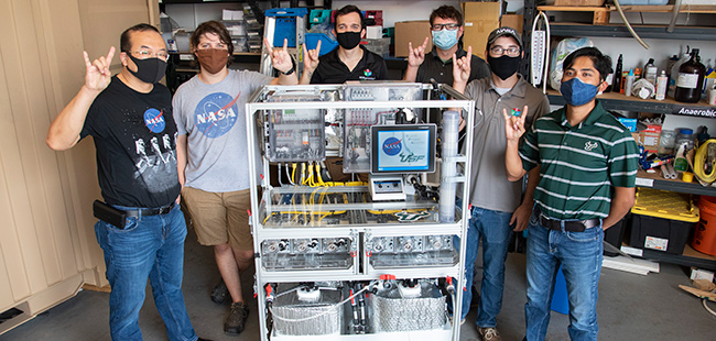USF technology being tested for possible use on NASA moon mission