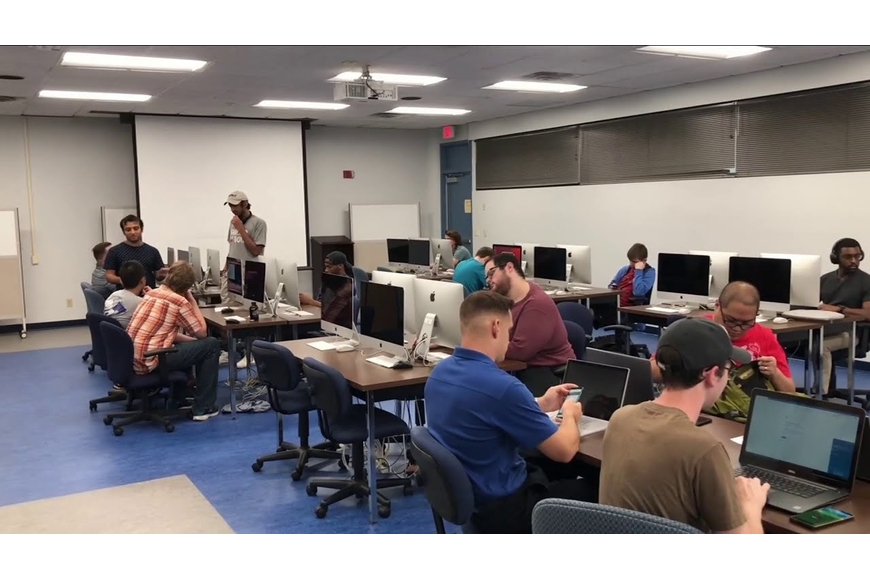 UNF veterans cybersecurity