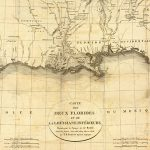 Old Gulf Coast Map